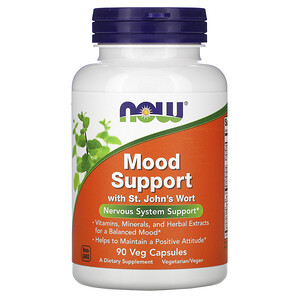 Now Foods, Mood Support with St. John's Wort, 90 Veg Capsules отзывы