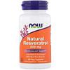 Now Foods, Resveratrol Natural, 200 mg, 60 cápsulas veg