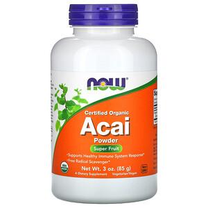 Now Foods, Certified Organic Acai Powder, 3 oz (85 g) отзывы покупателей