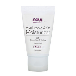 Now Foods, Solutions, Hyaluronic Acid Moisturizer, 2 fl oz (59 ml) отзывы покупателей