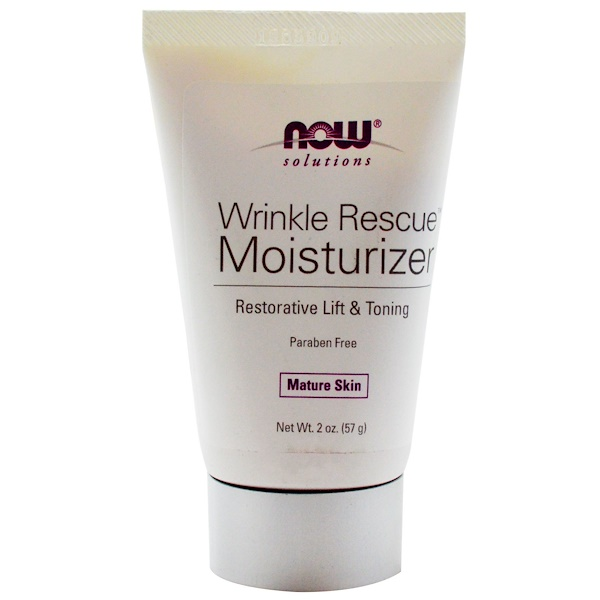 Now Foods, Solutions, Wrinkle Rescue Moisturizer, 2 oz (57 g)