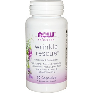 Now Foods, Solutions, Wrinkle Rescue, 60 Veg Capsules