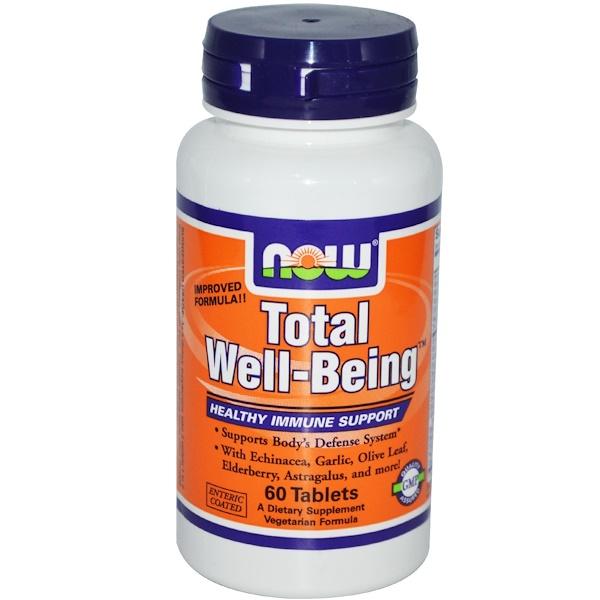 Now Foods, Полноценное отличное самочувствие, 60 таблеток (Discontinued Item)