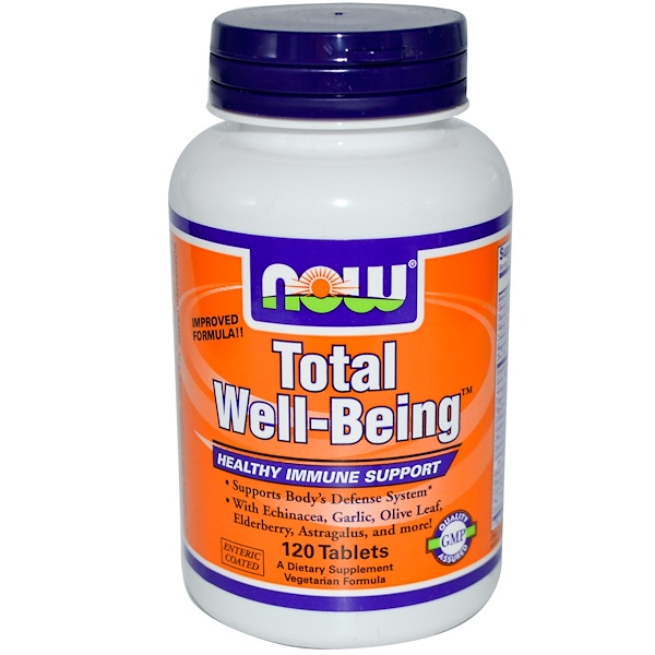 Now Foods, Total Well-Being, 120 Tablets (Discontinued Item)