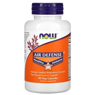 Купить Now Foods Air Defense, средство для укрепления иммунитета, с экстрактом PARACTIN, 90растительных капсул