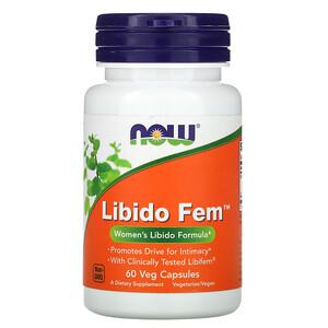 Now Foods, Libido Fem, 60 Veggie Caps отзывы