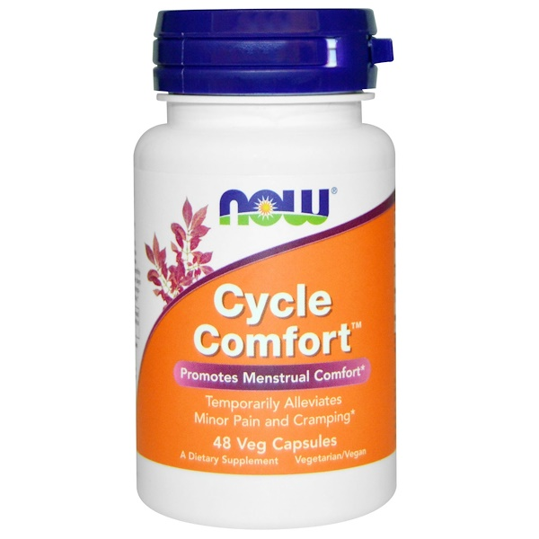 Now Foods, Cycle Comfort, 48 Veg Caps (Discontinued Item)