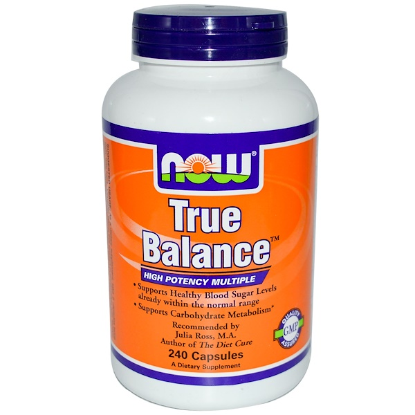Now Foods, True Balance, High Potency Multiple, 240 Capsules (Discontinued Item)