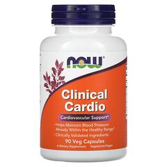 Now Foods, Clinical Cardio,心血管支持,90 粒素食膠囊