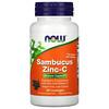 Now Foods, Sambucus, zinc y vitaminaC, 60pastillas