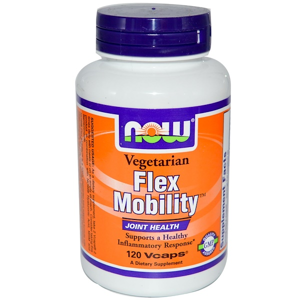 Now Foods, Flex Mobility, 120 Vcaps (Discontinued Item)