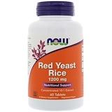 Отзывы о Now Foods, Красный ферментированный рис, 1200мг, 60таблеток