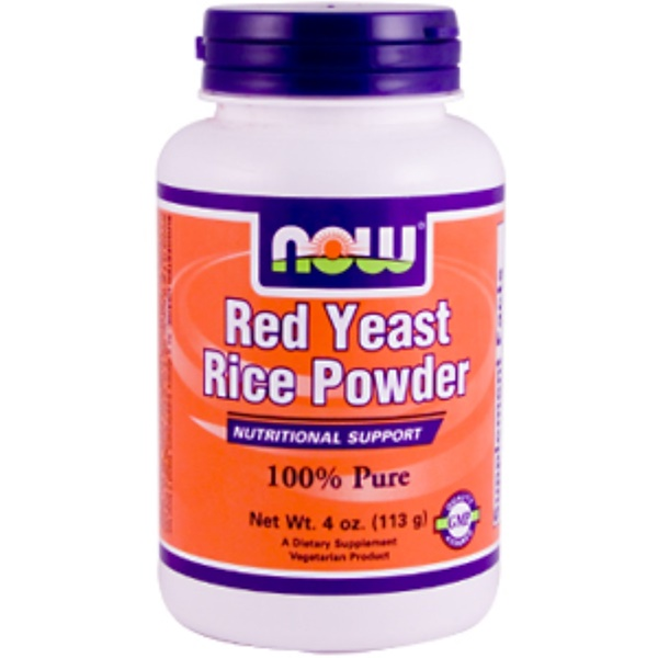 Now Foods, Red Yeast Rice Powder, 4 oz (113 g) (Discontinued Item)