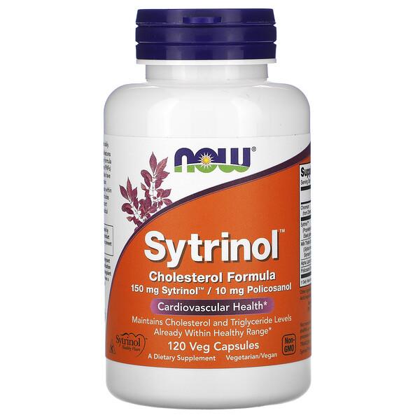 Now Foods, Sytrinol, Fórmula para el colesterol, 120 cápsulas vegetales