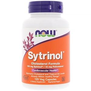 Now Foods, Sytrinol, поддерживает уровень холестерина, 120 растительных таблеток