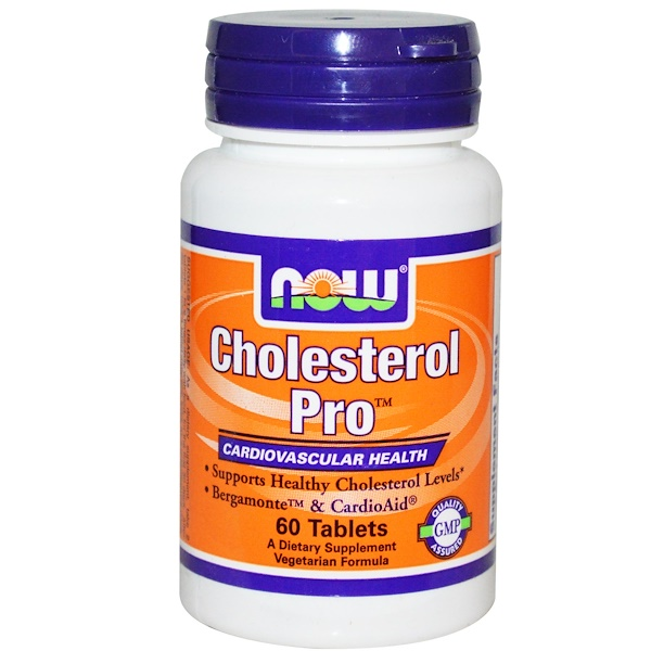 Now Foods, Cholesterol Pro, 60 Tablets (Discontinued Item)