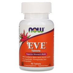 Now Foods, Eve,女性維生素補充劑,90片
