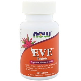 Now Foods, Eve, Erstklassiches Frauen Multi, 90 Tabletten