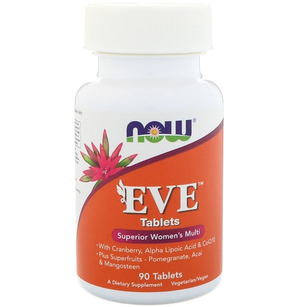 Now Foods, Eve, Superior Women's Multi, 90 tabletes