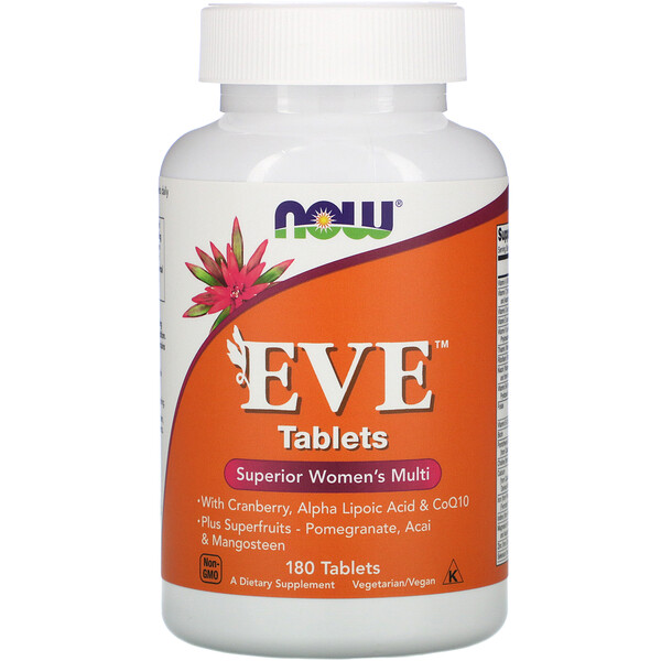 Now Foods, EVE, Superior Women's Multi, 180 Tablets
