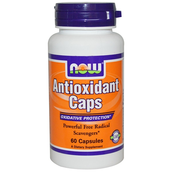 Now Foods, Antioxidant Caps, 60 Capsules (Discontinued Item)