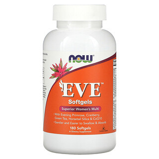 Now Foods, EVE, Superior Women's Multi, 180 Softgels