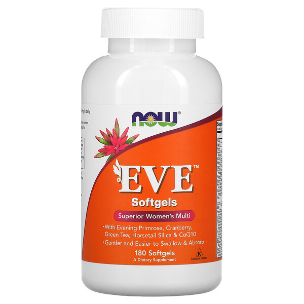 EVE, Superior Women's Multi, 180 Softgels