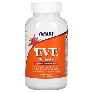 Now Foods, EVE, Superior Women's Multi, 180 Softgels отзывы покупателей
