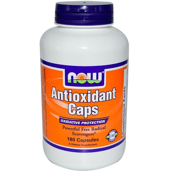Now Foods, Antioxidant Caps, 180 Capsules (Discontinued Item)