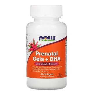 Now Foods, Prenatal Gels + DHA, 90 Softgels