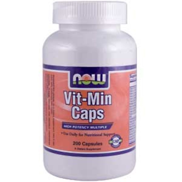 Now Foods, Vit-Min Caps, 200 Capsules (Discontinued Item)