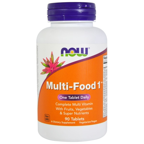 Now Foods, Multi-Food 1, 90 Tablets (Discontinued Item)