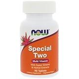 Отзывы о Now Foods, Special Two, мультивитамины, 90 таблеток