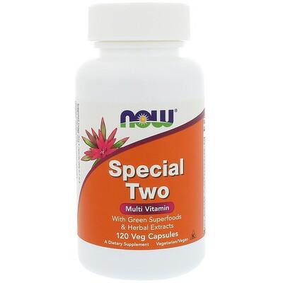 Special Two, мультивитамины, 120 растительных капсул