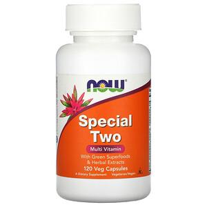 Now Foods, Special Two, Multi Vitamin, 120 Veg Capsules отзывы покупателей