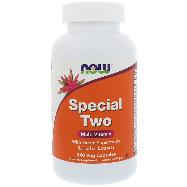 Now Foods, Special Two, Multi Vitamin, 240 Veg Capsules