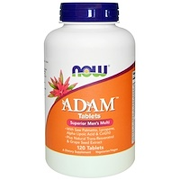 Adam, лучшие мультивитамины для мужчин, 120 таблеток - фото