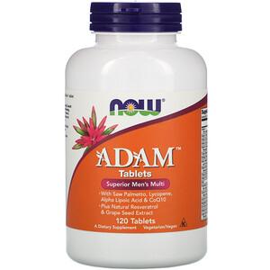 Now Foods, ADAM, Superior Men's Multi, 120 Tablets отзывы