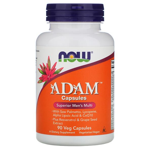 ADAM, Superior Men's Multi, 90 Veg Capsules