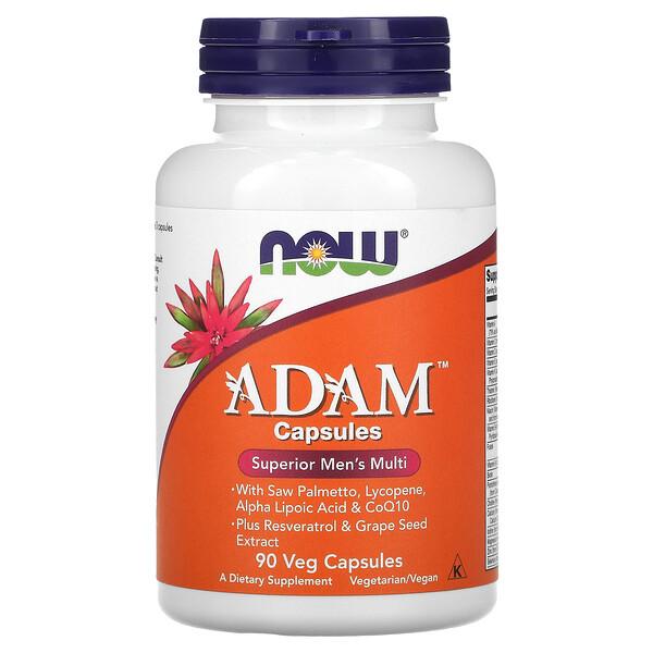 Now Foods, ADAM, Superior Men's Multi, 90 Veg Capsules