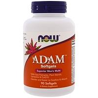 ADAM, высококачественный мультивитаминный комплекс для мужчин, 90 мягких капсул - фото
