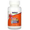 Now Foods, KidVits, ягодный взрыв, 120жевательных таблеток