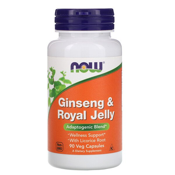 Ginseng & Royal Jelly, 90 Veg Capsules