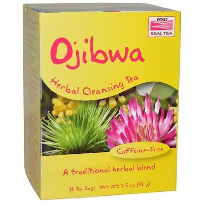 Купить Настоящий чай оджибве, без кофеина, 24 пакетика, 1.5 унций (42 г)