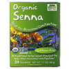 Now Foods, Real Tea, Organic Senna, Caffeine-Free, 24 Tea Bags, 1.7 oz (48 g)