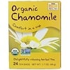 Now Foods, Organic Real Tea, Chamomile, 24 Tea Bags, 2 g Each