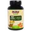 Now Foods, Pets, Pet Allergy, 75 Chewable Tablets