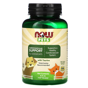 Now Foods, Pets, Cardiovascular Support for Dog & Cats, 4.5 oz (127 g) отзывы
