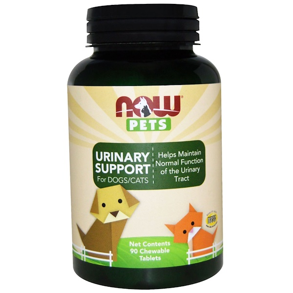 Pets, Urinary Support, For Dogs/Cats, 90 Chewable Tablets