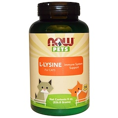 Now Foods, Now Pets, L-Lysine for Cats, 8 oz (226.8 g)